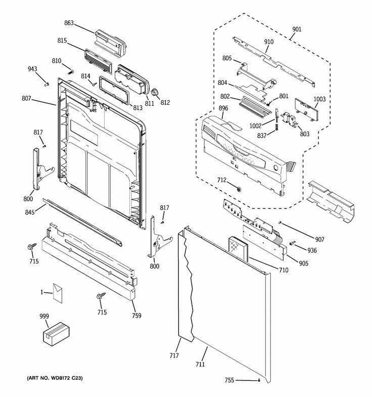 Ge Dishwasher Quiet Power 3 Explanation : Graphic Ge