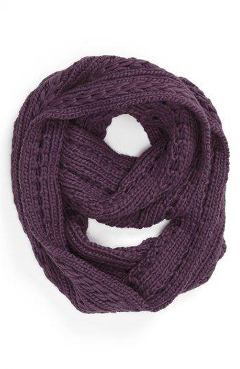 chunky sweater infinity scarf