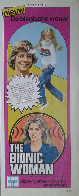 bionische vrouw ** Dutch vintage ads from Tina: the largest magazine for girls 1978