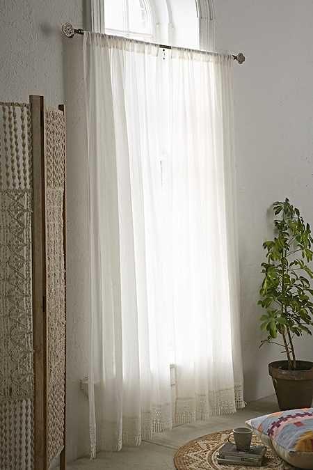 17 meilleures id es propos de rideaux du bow window sur for Decoration fenetre bow window