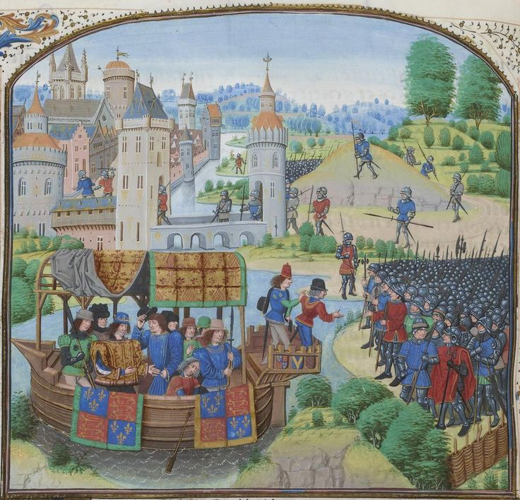 1381 - Peasants' Revolt: Rebels arrive at Blackheath to deliver their demands to King Richard II