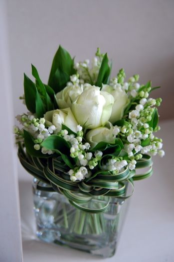 Lily of the valley. This is the flower for my birth month, May!