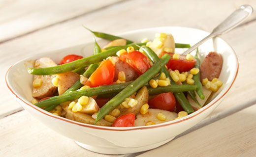 #Epicure Green Bean and Potato Salad