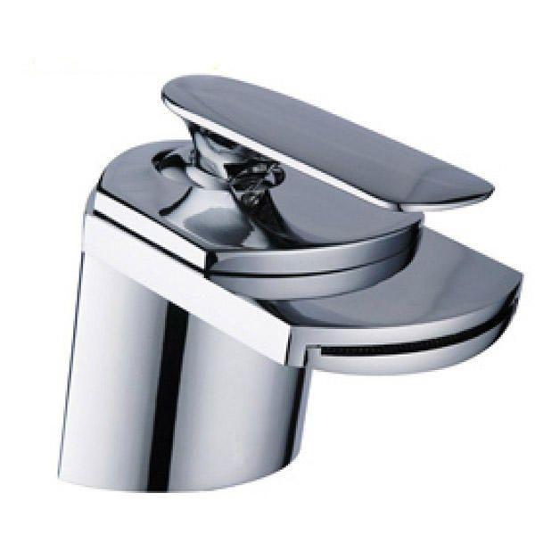 Llave de agua Grifo monomando estilo cascada para baño cocina - laton