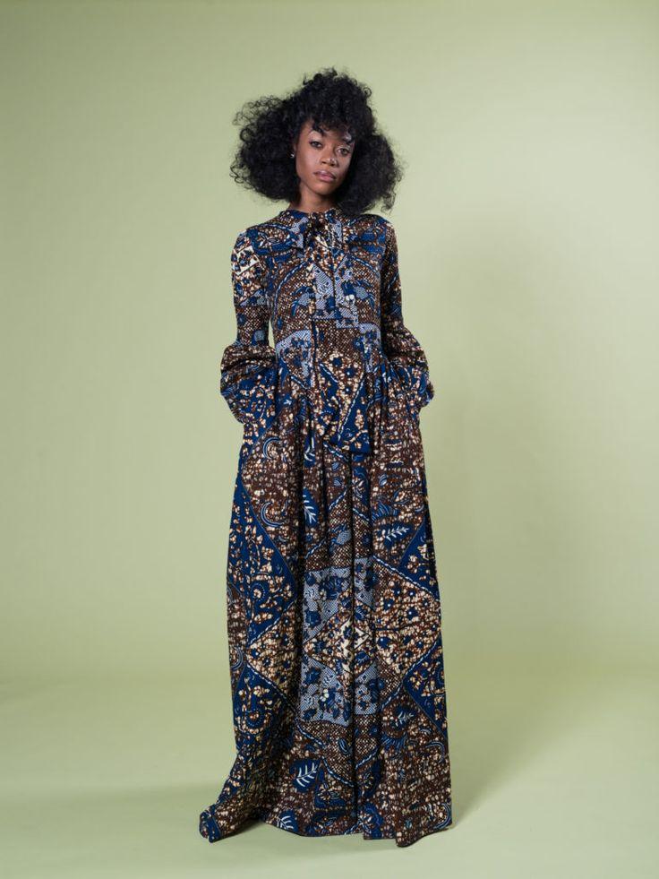 ADAMMA MONROE MAXI DRESS