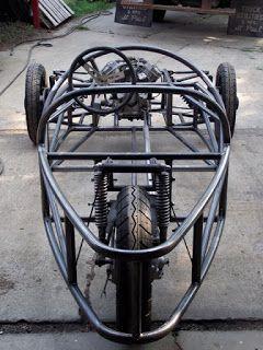CycleCar Build1930's Morgan Aero SuperSports inspired, Honda CX500 Powered Microcar