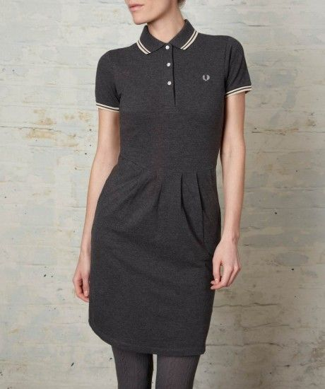 Fred Perry - Twin Tipped Fred Perry Shirt Dress ($100-200) - Svpply