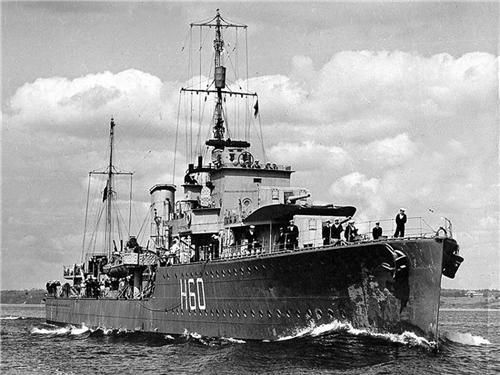 HMCS Ottawa (H 60) (Canadian Destroyer)
