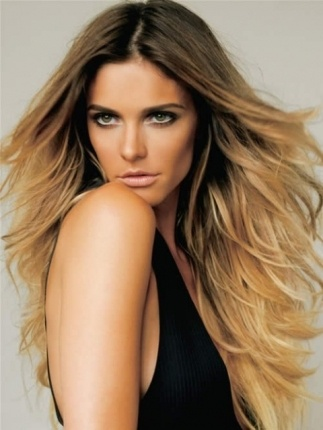 Ombre Hair Trend Dark Roots Light Ends Balayage