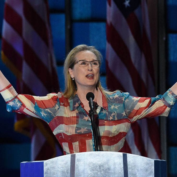 "Where Does Hillary Clinton Get Her ""Grit and Her Grace"" From? Mery Streep Wants to Know"