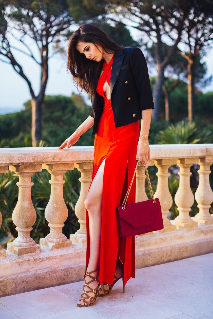 doina ciobanu red dress-2