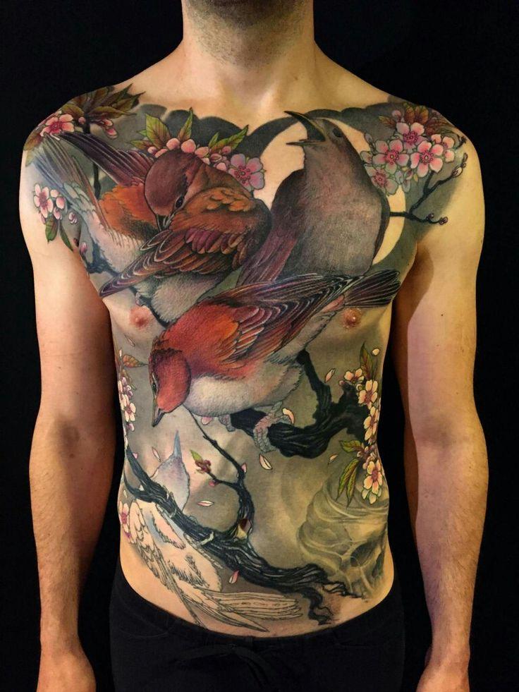 Tattoo by Jeff Gogue.