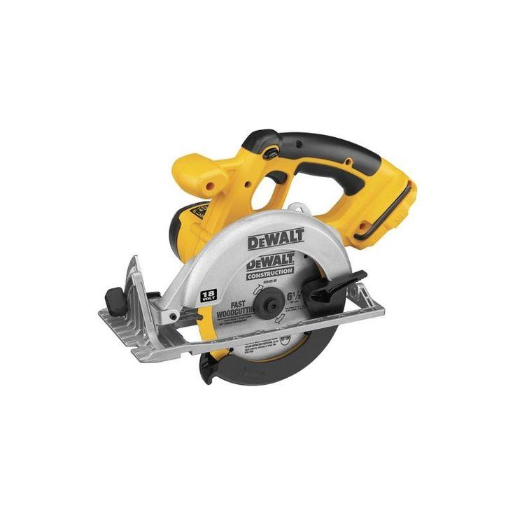 "DeWalt DC390B 6-1/2"" 18 Volt Cordless Circular Saw with 3700 RPM and Carbide Ti Power Tools Saws Circular Saws"