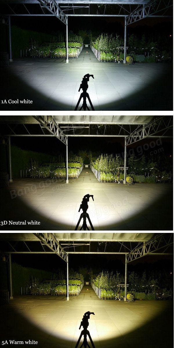 BLF A6 XPL 1600LM 7/4modes Non-anodized EDC LED Flashlight 18650 Sale - Banggood.com
