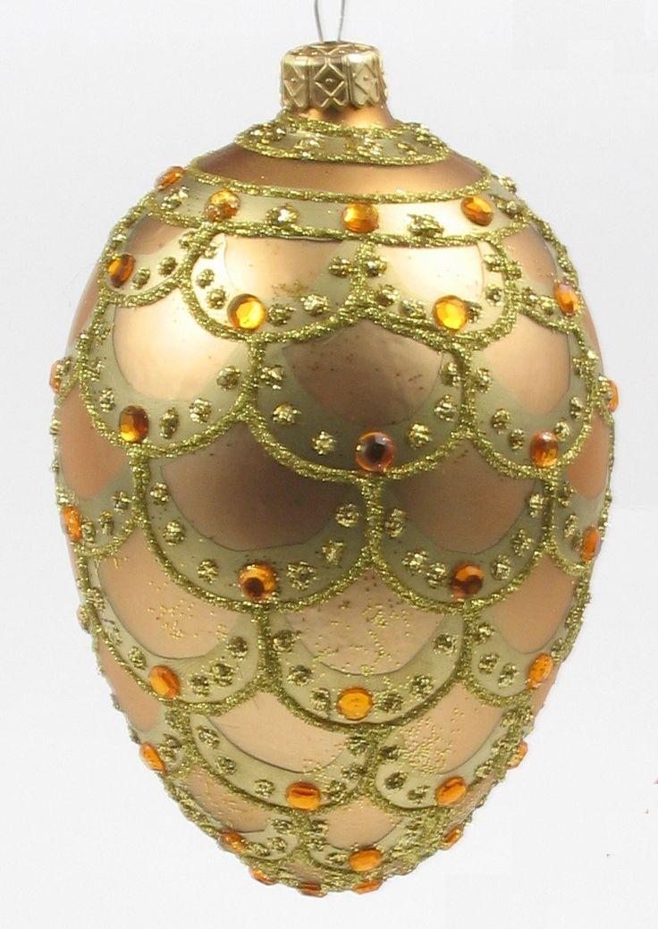 441 best Adornos de Navidad images on Pinterest | Glass ornaments ...