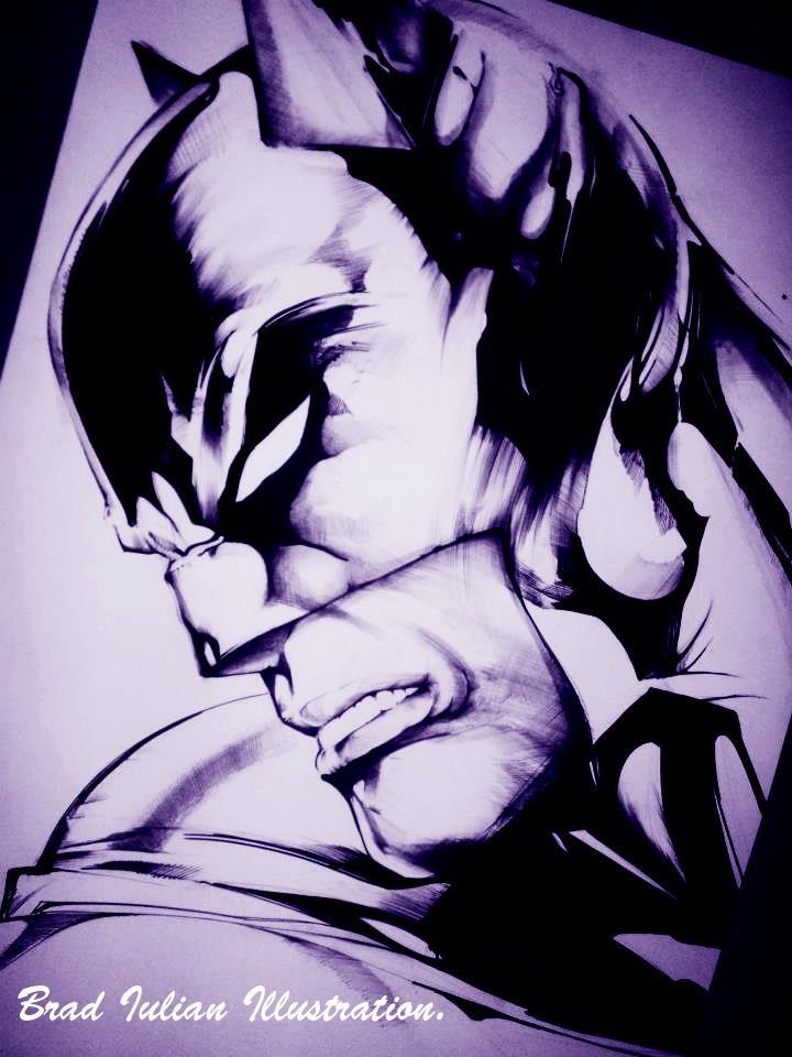 Batman Illustration.