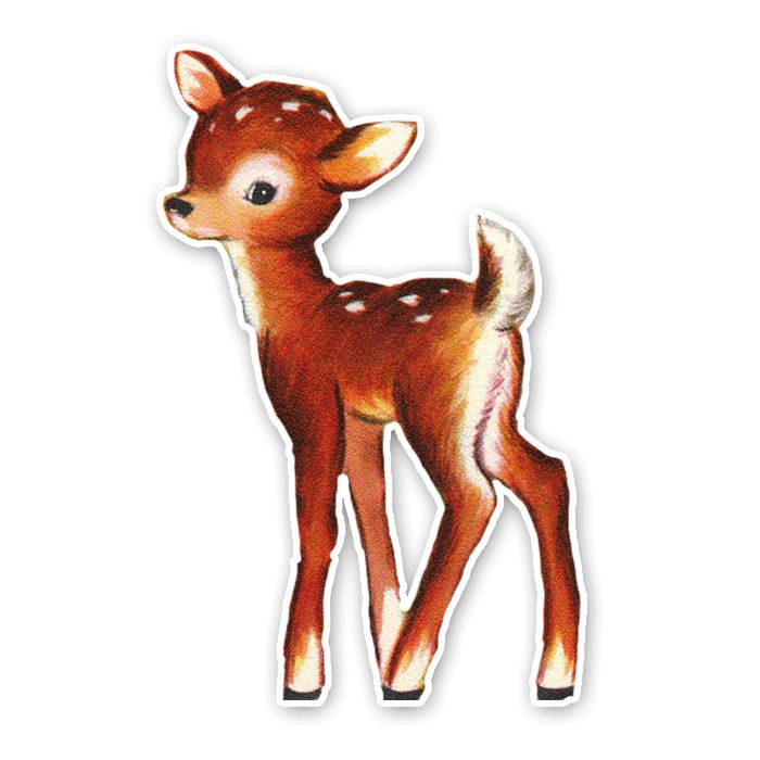 Vintage Fawn Illustration | www.imgkid.com - The Image Kid ...