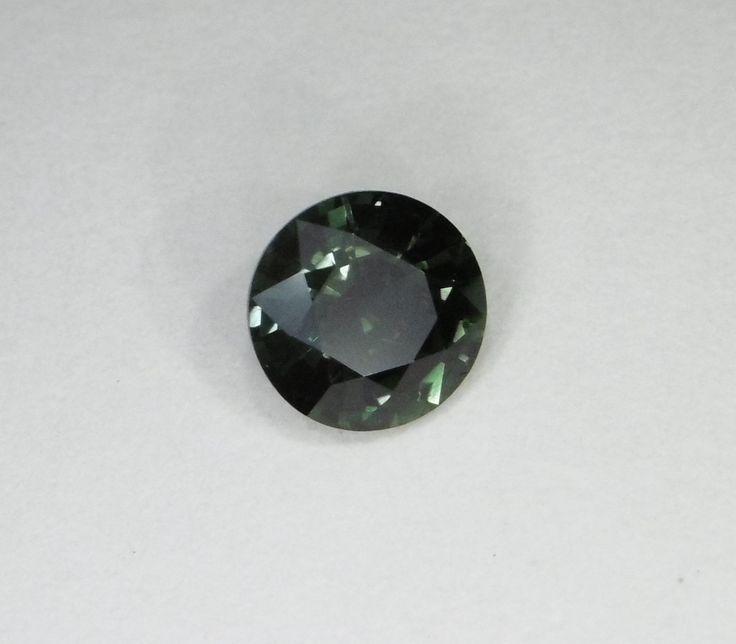 5.9mm Round Blueish Green Sapphire