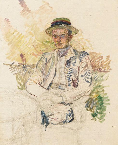 Portrait of Louis Pascal by Henri de Toulouse-Lautrec | Art Posters & Prints