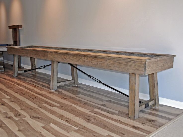 plank and hide isaac shuffleboard table main