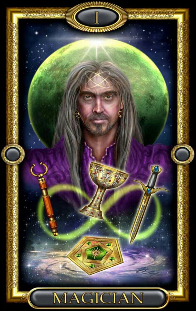 The Magician Tarot: Dragonfly Moon Tarot