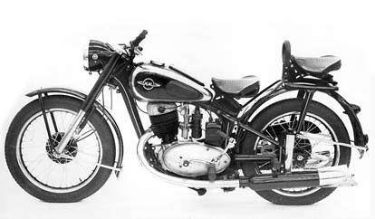 ... IZH-49. Mde in the USSR in 1955, it's an 11hp 2 stroke 350cc machine