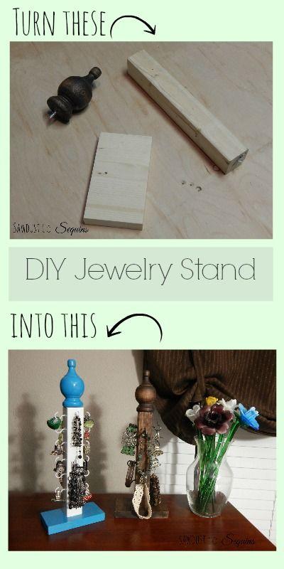 Make a DIY Jewelry Stand!