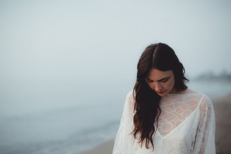 bohemian lace wedding dress // & FOR LOVE