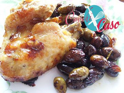 Pollo alle olive taggiasche - Ricette dei Cuochi x caso