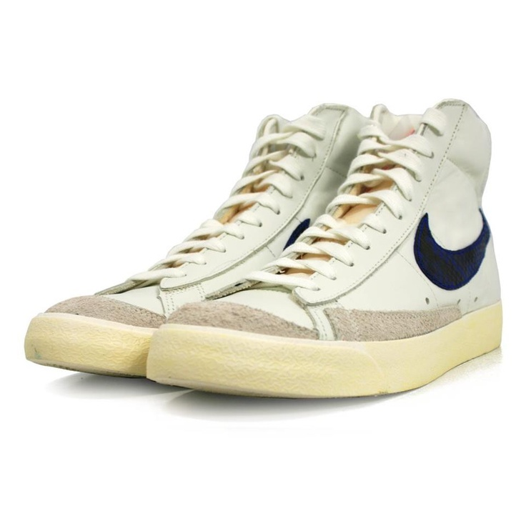 newest collection c1e70 995ff ... the nike blazer mid 77 premium vintage sail game royal shoe faux  crocodile  nike blazer limited edition ...