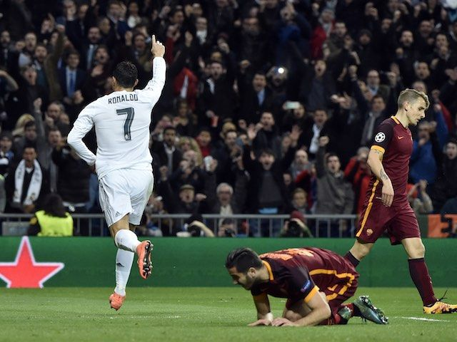Result: Real Madrid through to Champions League quarter-finals