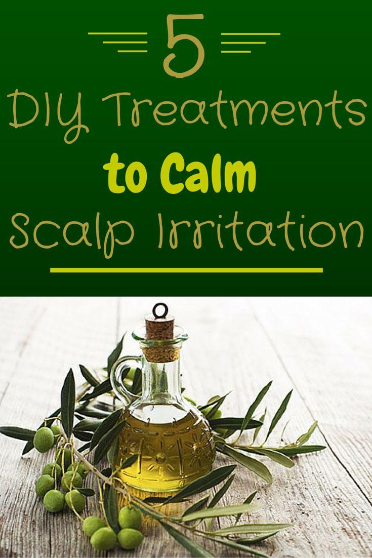5 DIY Treatments to Calm Scalp Irritation - Try some of these budget-friendly scalp savers #diy #scalp #treatment   everydayhealth.com