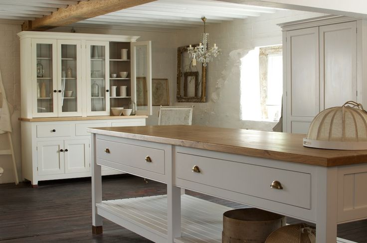 This is the deVOL Classic English Kitchen showroom at Cotes Mill.