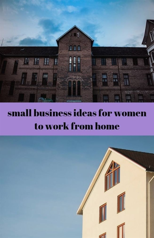 small business ideas for women to work from