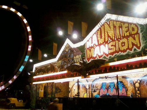 Haunted Mansion dark ride