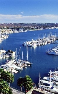 Marina Del Rey, Ca.  Where my oldest son lives.