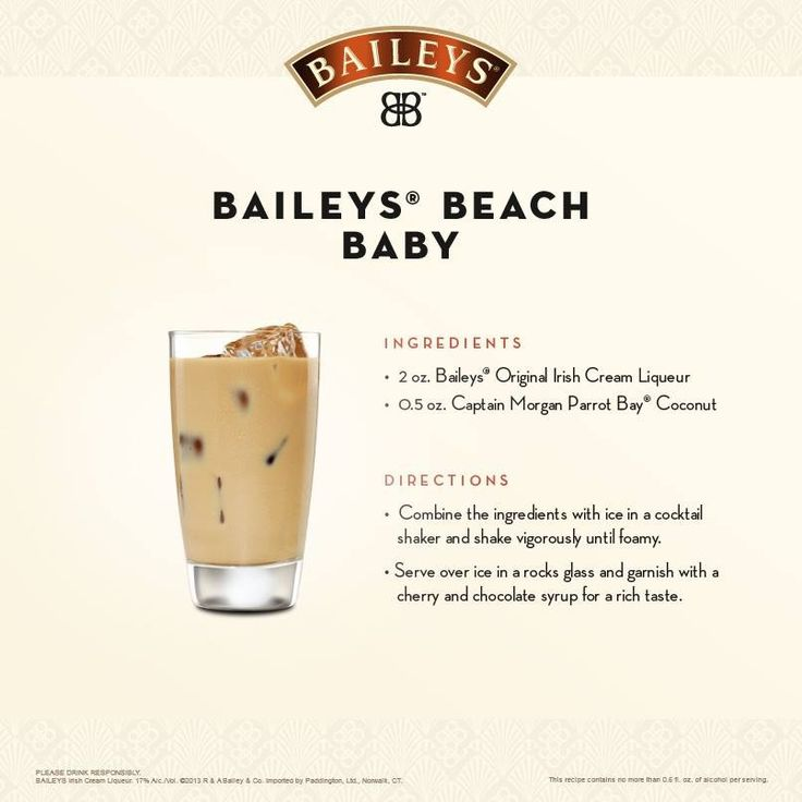 Baileys Summer beach drink