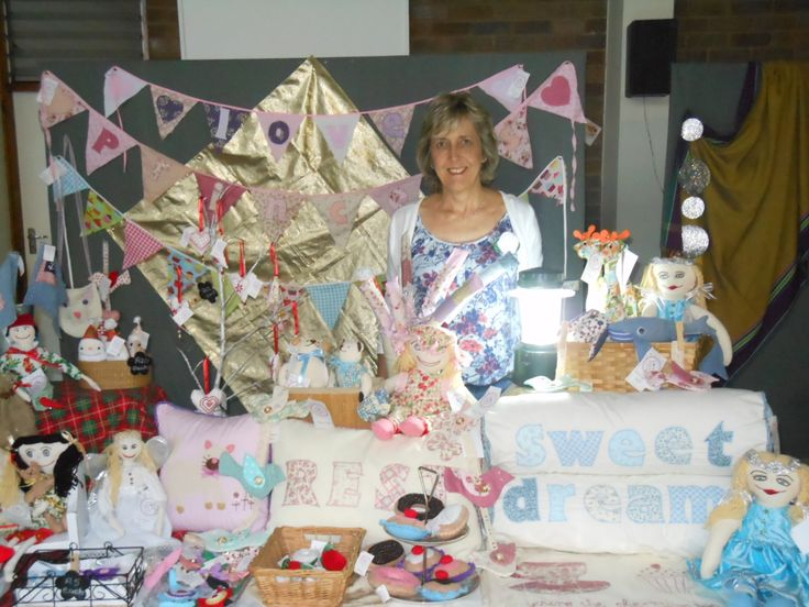 """Markets in the evening are fun!  This was the Moonlight market at St Elizabeth""""s Church in Westville"""