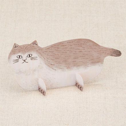 携帯アプリから簡単無料ダウンロードで、ほっこりかわいい猫ちゃん✨のインテリアクラフト✨が出来ちゃいます☺︎✂︎✨ ➡️https://goo.gl/vgTKNW   #ネコ #Cat #猫 #インテリア #クラフト #簡単 #手作り #ペーパークラフト #ミニサイズ