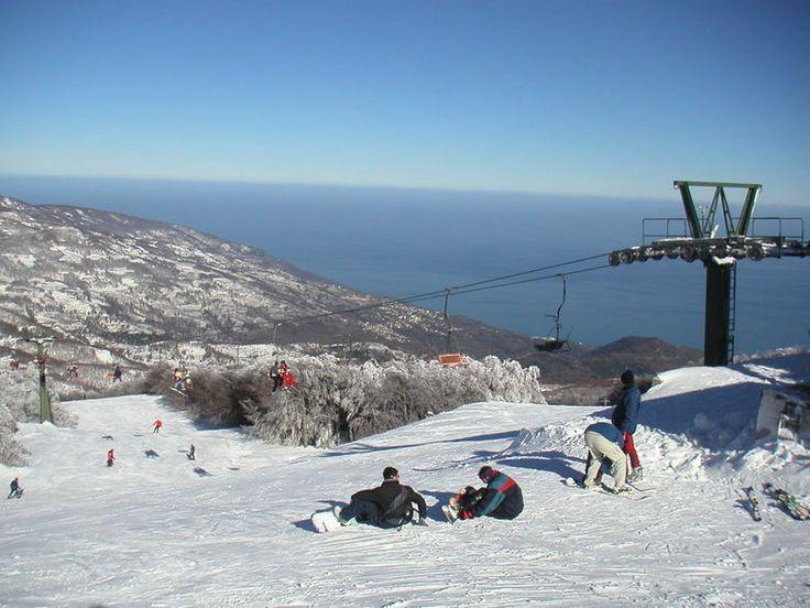 Winter @ #Pelion Ski Centre, #Thessaly, #Greece