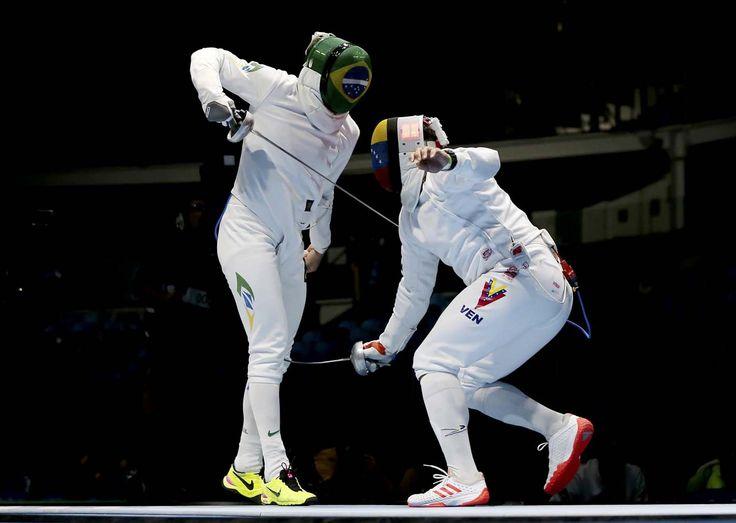 2016 Rio Olympics - Fencing - Preliminary - Men's Epee Team Table of 16 - Carioca (1400×996)