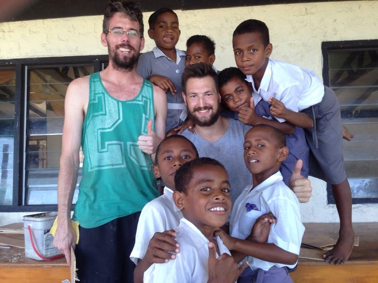 Jayden on the remote island teaching project