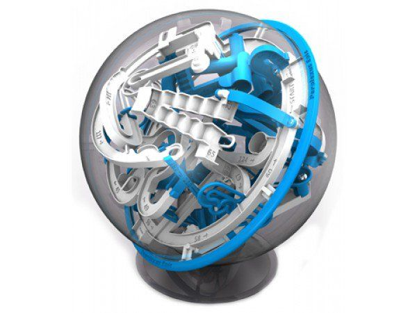 The Grommet team tells the story behind the invention of Perplexus, a 3D maze game that is contained in a ball.  Comes in Original, Rookie, Epic and Twist.
