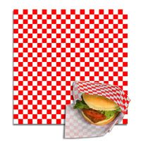 Red Check Pattern Food Wraps