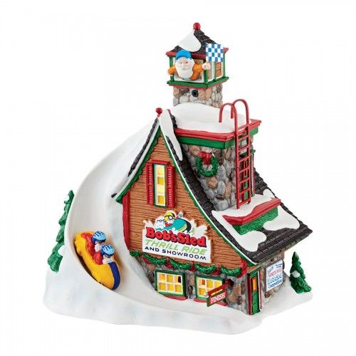 North Pole Bob's Sled Thrill Ride | Department 56 Villages, Free Shipping on Dept 56