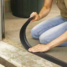 Storm Shield Garage Door Threshold, Garage Door Seal