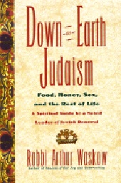 Down-To-Earth Judaism: Food, Money, Sex, And The Rest Of Life