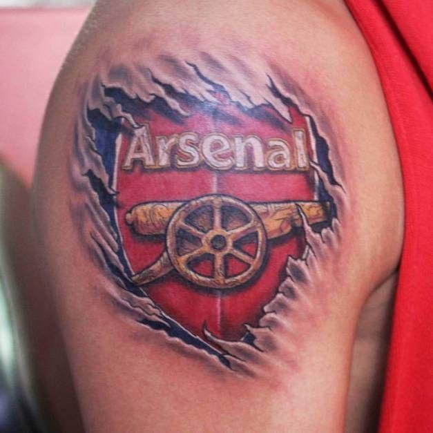 Arsenal Tattoo in 3D