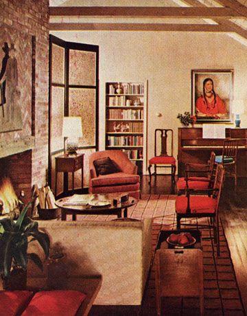 Mad Men Style | Retro Design | 1960s furniture, 1960s home ...
