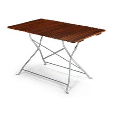 Beer Garden Folding Wood Table  Color  Chestnut with silver  frame Dimensions  27. 33 best Beer Garden Furniture images on Pinterest